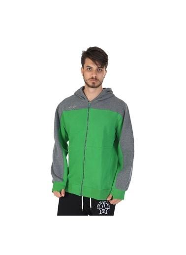 Sportive Sweatshirt Yeşil